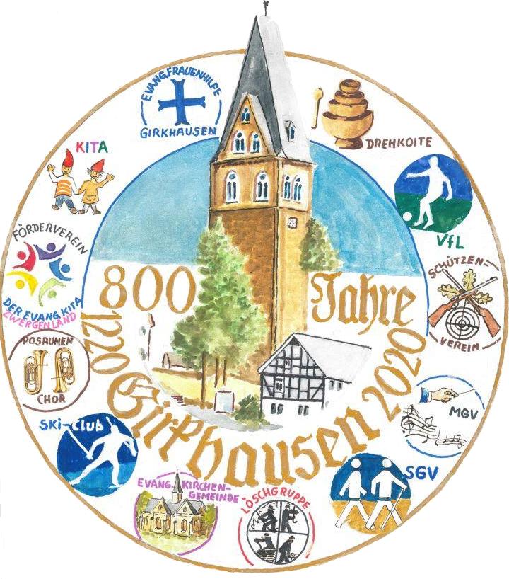 Logo 800 Jahre Girkhausen